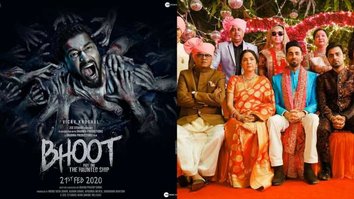 Vicky Kaushal's Bhoot Part One and Ayushmann's Shubh Mangal Zyada Saavdhan release today