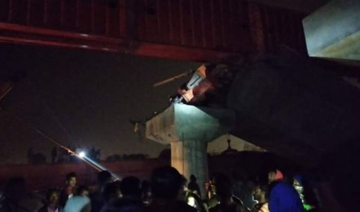 Three dead as under-construction bridge collapses in West