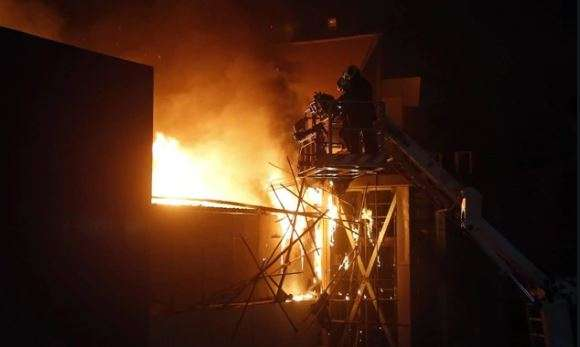 Paper glass worth Rs 50 lakh destroyed in UP factory fire