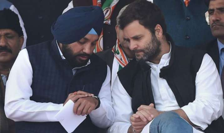 Congress candidate from Delhi's Gandhinagar Assembly seat, Arvinder Singh Lovely voted in the East A