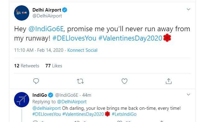 My love, so many future planes together: IndiGo replies to Delhi Airport proposal