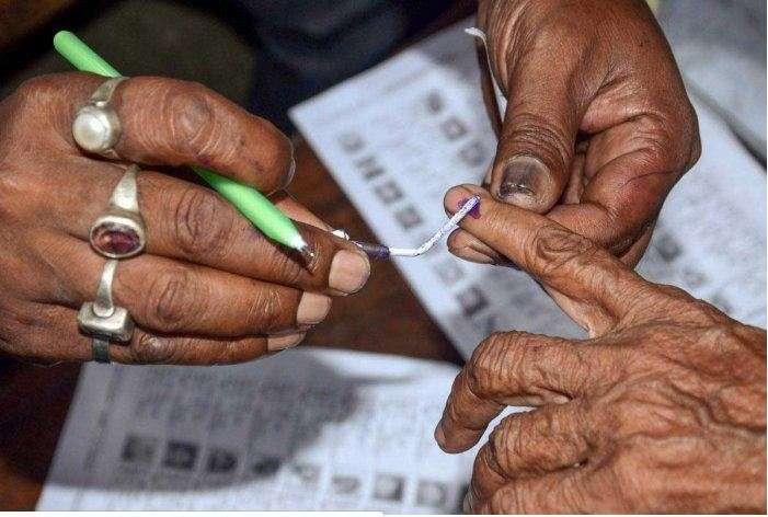 Oldest Delhi voter Kalitara casts her vote at age of 111