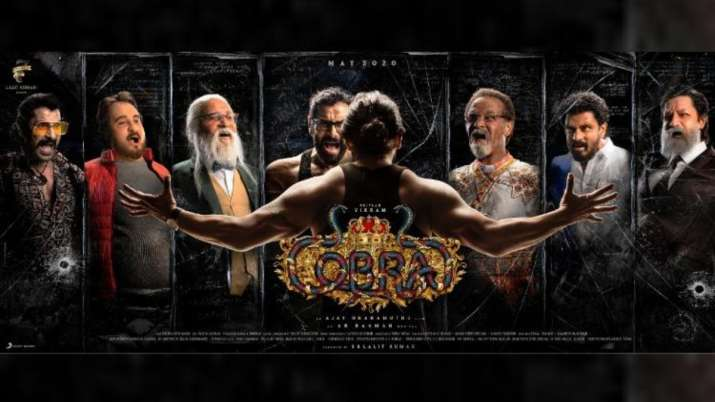 Vikram dons seven looks in upcoming film Cobra. Seen the first look poster yet?