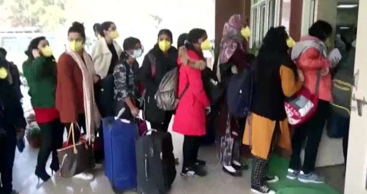 Coronavirus outbreak: Indian nationals arrive at quarantine centre set up by ITBP in Chhawla