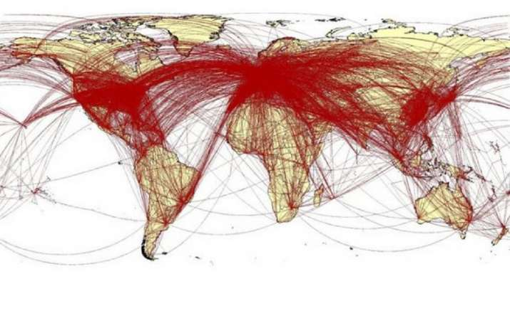 India Tv - Coronavirus map