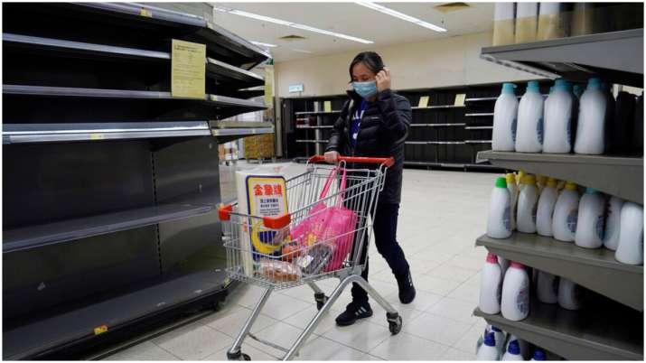 Hong Kong Supermarkets go 'out of stock' as Coronavirus impact triggers panic buying