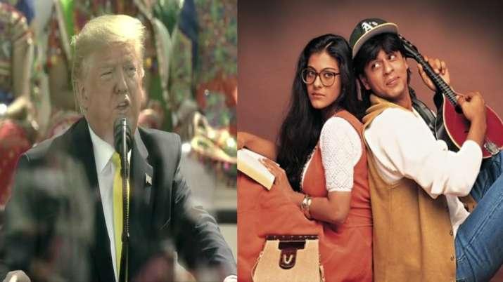 Donald Trump, DDLJ, SHAH RUKH KHAN