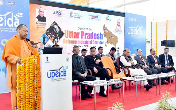 India Tv - Defence Expo 2020, Yogi Adityanath, Defence Expo, Uttar Pradesh, infrastructure, logistics, defence