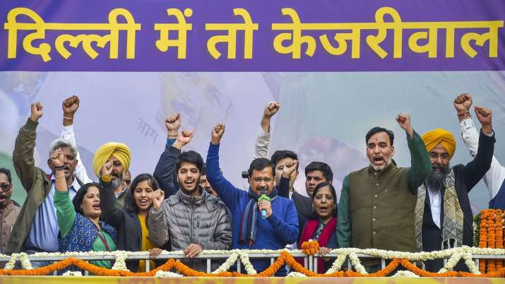 President appoints Kejriwal as Delhi CM