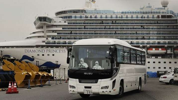 Two more Indians on board Diamond Princess test positive for coronavirus: Indian Embassy
