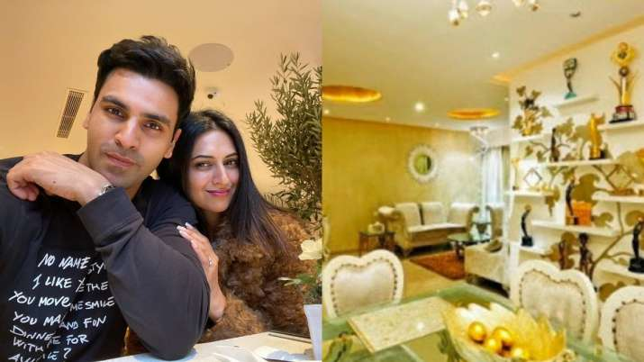 Seen Divyanka Tripathi, Vivek Dahiya's lavish 4BHK apartment yet?