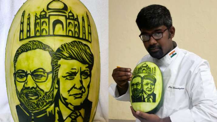 PM Narendra Modi, Donald Trump,Taj Mahal