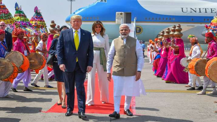 Trump, Namaste Trump, Trump India visit, Trump in India, Trump India visit day 2 itinerary, Modi