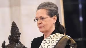 A file photo of Congress interim President Sonia Gandhi