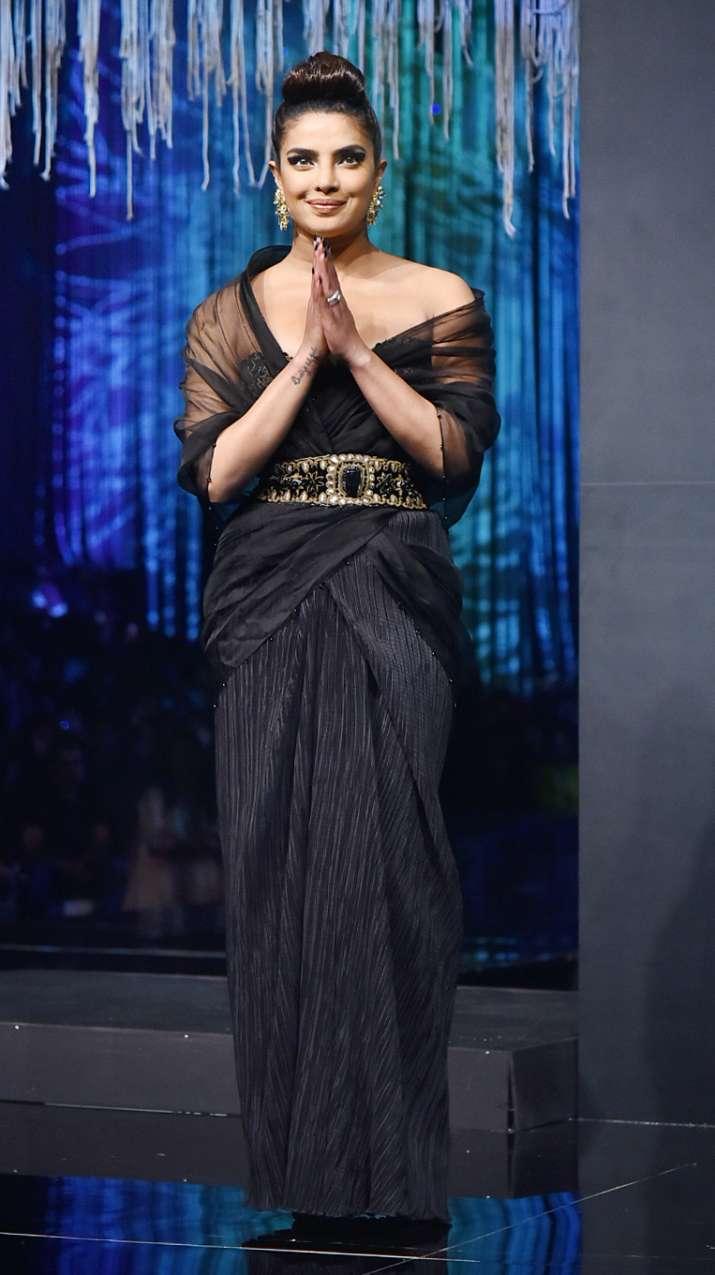 India Tv - Priyanka Chopra on the ramp