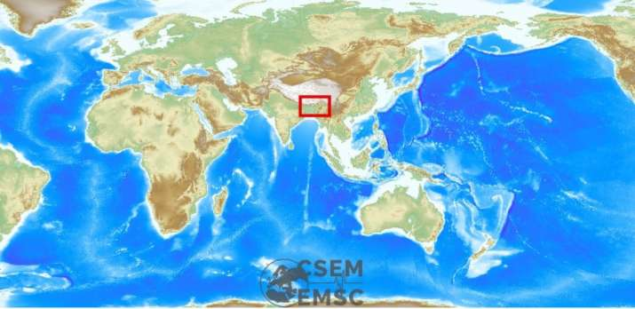 Earthquake jolts Assam