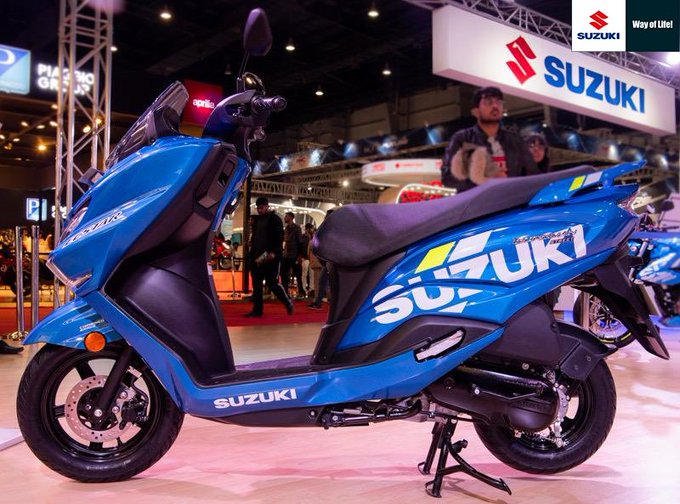Burgman Street, Suzuki's 125 cc scooty launched in India. Price and details here