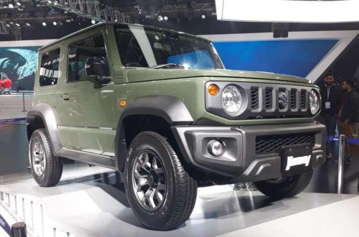 India Tv - maruti suzuki jimny, auto expo 2020, maruti suzuki auto expo, maruti jimny auto expo, maruti suzuki