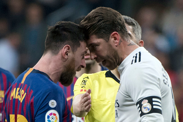 India Tv - Real Madrid captain Sergio Ramos and Barcelona captain Lionel Messi