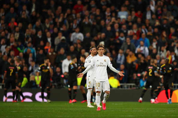 India Tv - Real Madrid lost to Manchester City 2-1 in UCL round of 16