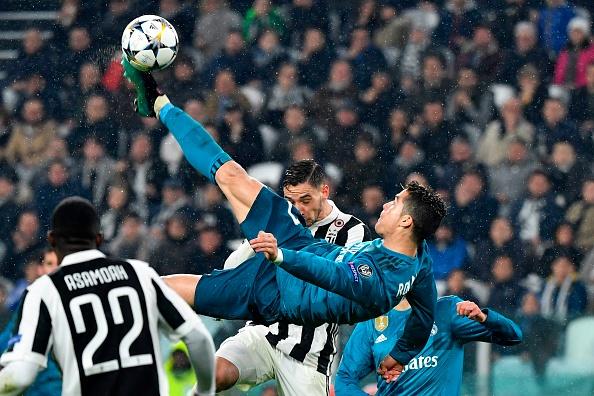India Tv - Cristiano Ronaldo's famous bicycle kick against Juventus