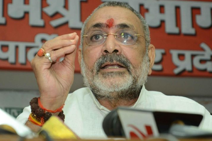 Shaheen Bagh now breeding ground for suicide bombers, claims Giriraj Singh