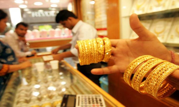 Gold price today: Gold drops Rs 128, silver prices plunge Rs 700