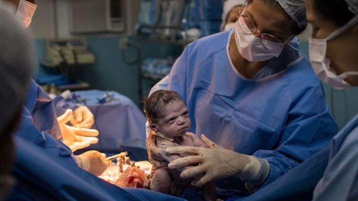 Rodrigo Kunstmann, grumpy baby picture