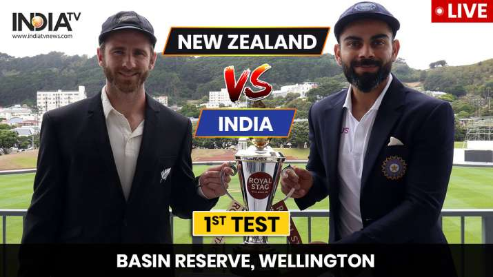 Live Score India vs New Zealand 1st Test Day 1: India, New Zealand inseparable as series begins in Wellington