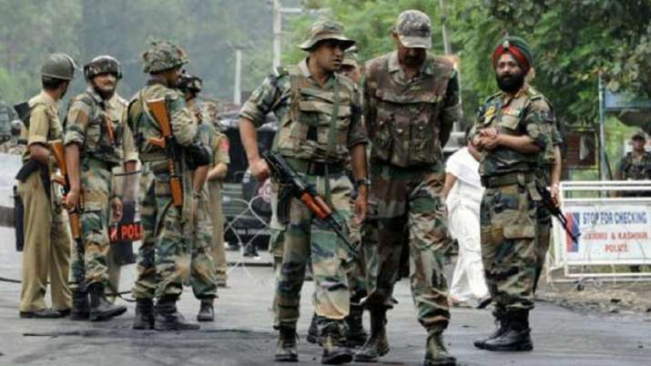 Senior officials review security situation in south Kashmir