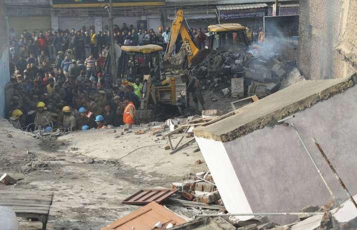 Jammu building collapse