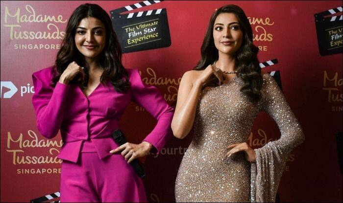 Extremely Happy Grateful Kajal Aggarwal On Her Wax Statue At Madame Tussauds Singapore Celebrities News India Tv