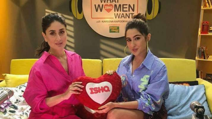 Sara Ali Khan's answer about one-night stand gives Kareena Kapoor Khan relief
