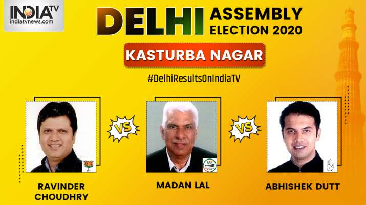 Kasturba Nagar Constituency Result Aap S Madan Lal Wins