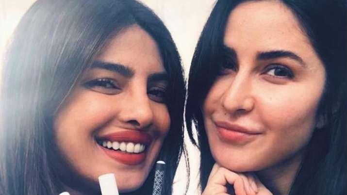 Katrina Kaif is having a blast with Priyanka Chopra and this photo is proof