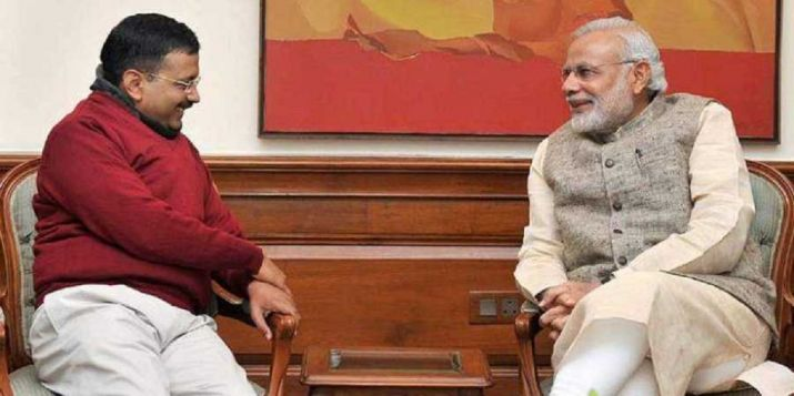 Kejriwal, AAP, Modi, Kejriwal takes oath