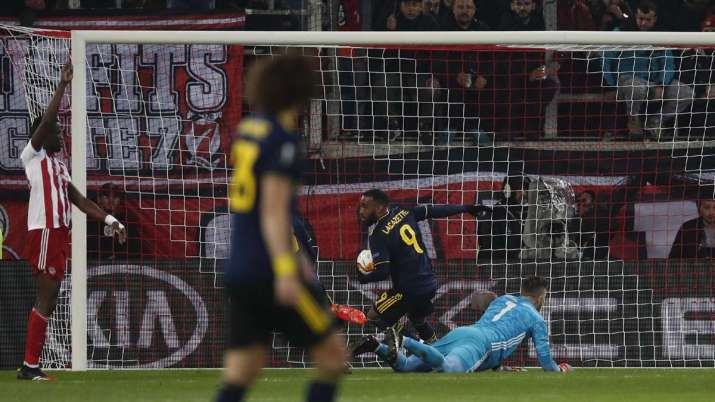 Mikel Arteta marks maiden European game as Arsenal manager with a 1-0 victory at Olympiakos