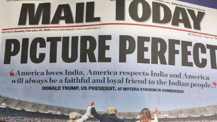 India Tv - Mail Today: Picture Perfect: America Loves India, America Respects India