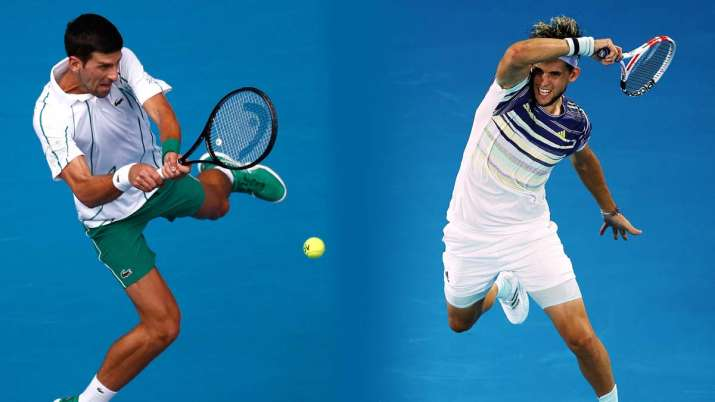 Australian Open 2020 Men S Singles Final Can Dominic Thiem Dethrone King Novak Djokovic In Melbourne Tennis News India Tv