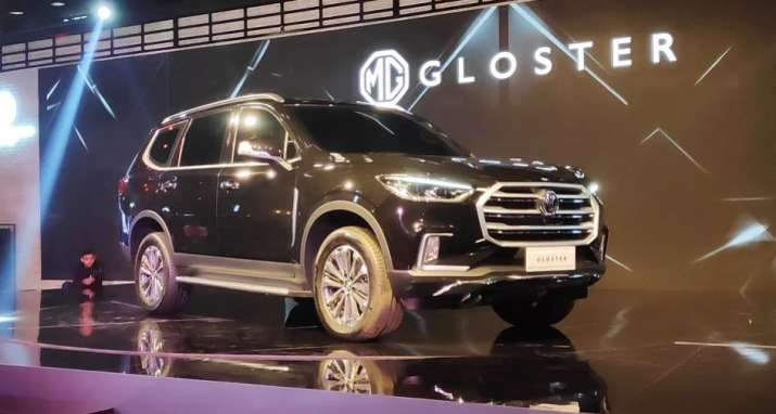 Auto Expo 2020: MG Motor India unveils premium SUV Gloster, MPV G10