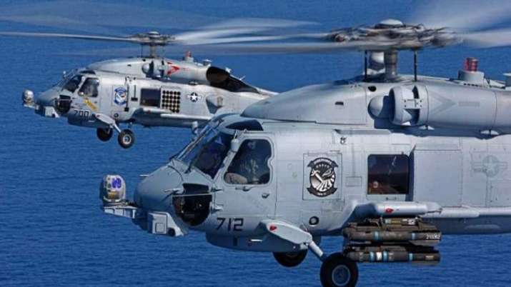 MH-60 Romeo helicopters, Indian Navy, Apache helicopters