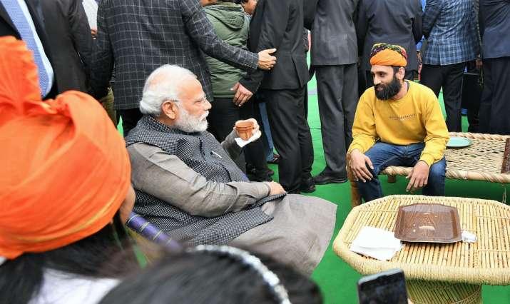India Tv - PM Modi at Hunar Haat. The theme of this year's Hunar Haat is 'Kaushal ko Kaam'.