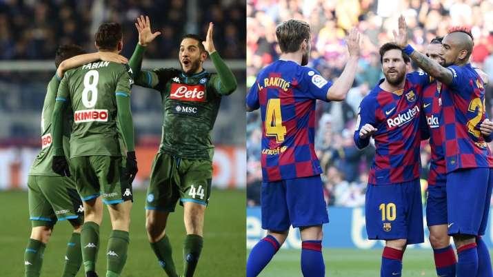Napoli vs Barcelona Live Streaming, Champions League round of 16