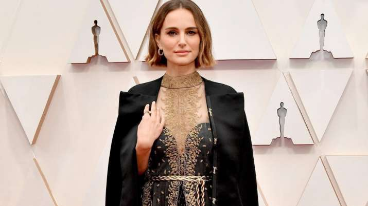 Oscars 2020: Natalie Portman honours snubbed female directors with her cape