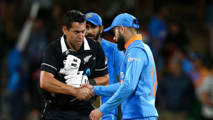 1st ODI: Ton-up Taylor overshadows Iyer's maiden century as New Zealand beat India by 4 wickets