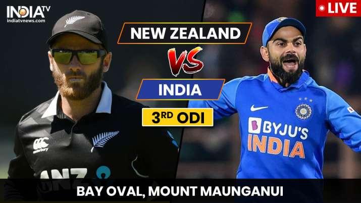 Live Streaming Cricket, India vs New Zealand, 3rd ODI: Watch IND vs NZ live match online on Hotstar
