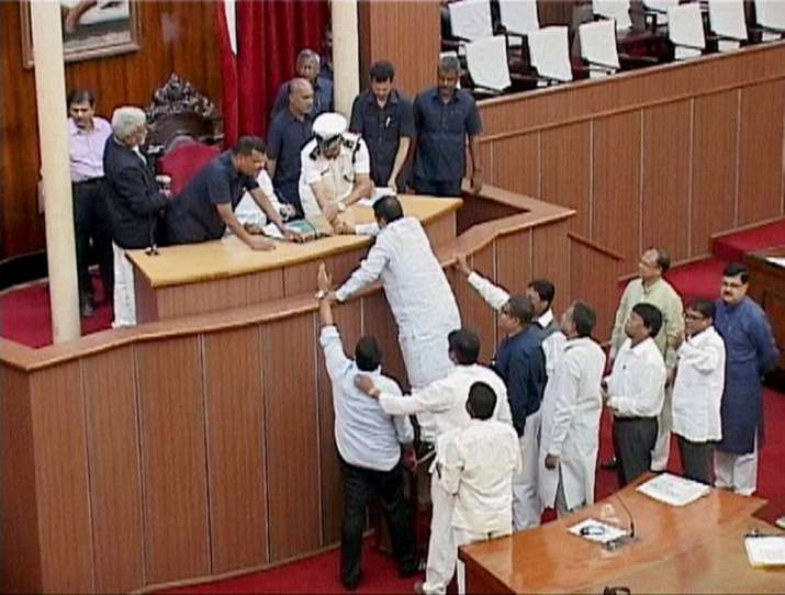 Odisha speaker bans media from reporting ruckus in House