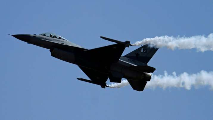 Pakistan Air Force aircraft crashes during routine training mission