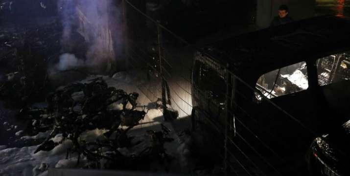 Major fire at Paris railway station, people evacuated