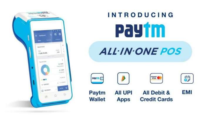 Paytm, paytm merchants, paytm POS machines, paytm android pos machine, all-in-one QR code, paytm bus